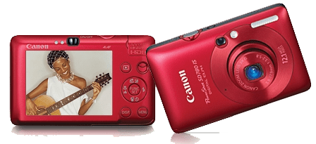 Canon Powershot SD780 IS Red