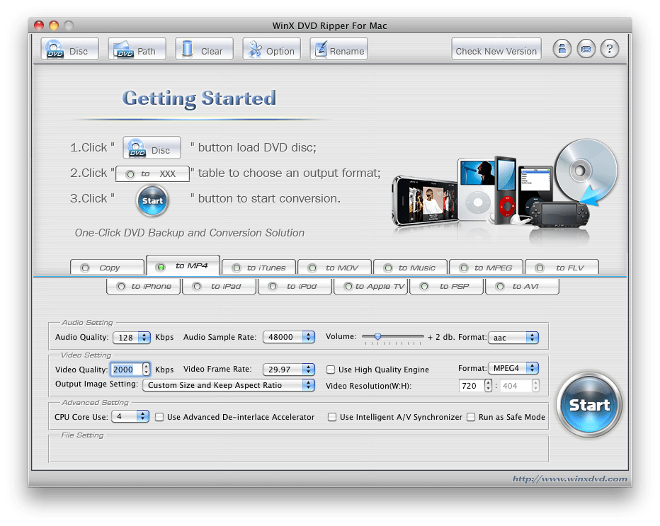 WinX DVD Ripper for Mac Giveaway