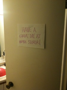 Have a great day at work Samer!